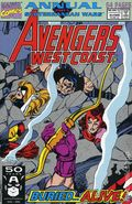 Avengers West Coast (1986) Annual 6