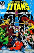 New Teen Titans (1984 2nd Series) New Titans 27