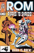 Rom (1979-1986 Marvel) 71