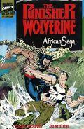 Punisher/Wolverine African Saga TPB (1989 Marvel) 1-1ST