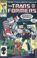 Transformers (1984 Marvel) 1st Printing 7