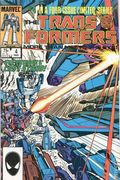 Transformers (1984 Marvel) 1st Printing 4
