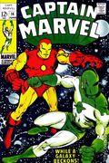 Captain Marvel (1968 1st Series Marvel) 14