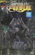 Tales of the Witchblade (1996) Wizard 1/2 1GOLDSIGNED