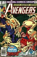 Avengers (1963 1st Series) Mark Jewelers 203MJ