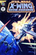 Star Wars X-Wing Rogue Squadron (1997) Wizard 1/2 1PLAT