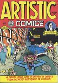 Artistic Comics (1973 Golden Gate/Kitchen Sink) #1, 4th Printing
