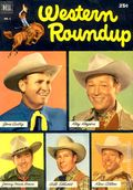 Dell Giant Western Roundup (1952) 1
