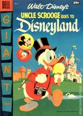 Dell Giant Uncle Scrooge Goes to Disneyland (1957 Dell) 1