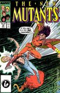 New Mutants (1983 1st Series) 55