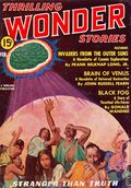 Thrilling Wonder Stories (1936-1955 Beacon/Better/Standard) Pulp Vol. 9 #1