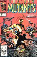 New Mutants (1983 1st Series) 80