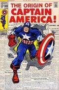 Captain America (1968 1st Series) JC Penney Reprint 109