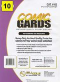 Comic Sleeve: Mylar Magazine Comic-Guard 10pk (#063-010)
