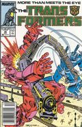 Transformers (1984 Marvel) 1st Printing 35