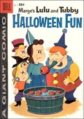 Dell Giant Marge's Lulu and Tubby Halloween Fun (1957) 2