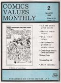 Comics Values Monthly (1986) 2