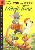 Dell Giant Tom and Jerry Picnic Time (1958) 1