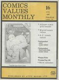 Comics Values Monthly (1986) 16