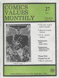 Comics Values Monthly (1986) 27