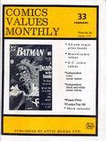 Comics Values Monthly (1986) 33