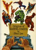 Origins of Marvel Comics TPB (1974 Fireside) 1-1ST