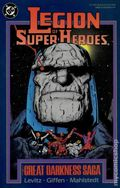 Legion of Super-Heroes The Great Darkness Saga TPB (1989 DC) 1st Edition 1-1ST