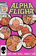 Alpha Flight (1983 1st Series) 12