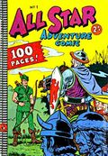 All Star Adventure Comic (Australian Series c.1960-1970 Kenmure Press) 1