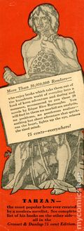 Tarzan Book Mark Promotional (1928) 0