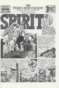 Spirit Weekly Newspaper Comic (1972) Collectors' Edition Reprints Aug 4 1940