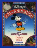 Disney's Art of Animation HC (1991 Walt Disney) From Mickey Mouse to Beauty and the Beast 1-1ST