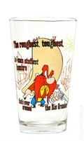 Toon Tumblers Looney Tunes Pint Glasses (2012 PopFun) TTLT002
