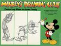 Mickey's Drawing Class Featuring: How to Draw Goofy SC (1983) 1-1ST