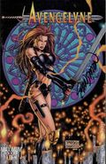 Avengelyne (1996 2nd Series Maximum) 1C.DF.SIGNED