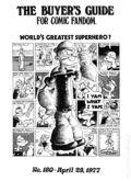 Comics Buyer's Guide (1971) 180