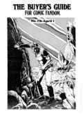 Comics Buyer's Guide (1971) 176