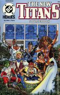 DC Heroes Role-Playing Game The New Titans Sourcebook SC (1990 Mayfair) #252