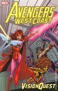 Avengers West Coast Vision Quest TPB (2005 Marvel) 1st Edition 1-1ST