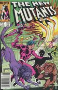 New Mutants (1983 1st Series) Mark Jewelers 16MJ