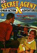 Secret Agent X Feb 1937 Replica SC (2007) 1-1ST