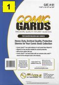 Comic Sleeve: Mylar Silver/Gold Comic-Guard 1pk (#061-001)