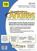 Comic Sleeve: Mylar Silver/Gold Arklite 10pk (#161-010)