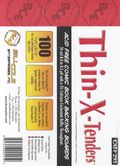 Comic Boards: Super Gold Thin-X-Tender 100pk (#295-100)