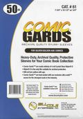 Comic Sleeve: Mylar Silver/Gold Comic-Guard 50pk (#061-050)