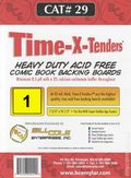 Comic Boards: Super Gold Time-X-Tender 1pk (#029-001)