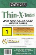 Comic Boards: Standard Thin-X-Tender 1pk (#235-001)