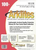 Comic Sleeve: Mylar Super Golden Arklite 100pk (#162-100)