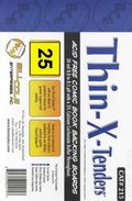 Comic Boards: Silver/Gold Thin-X-Tender 25pk (#215-025)
