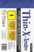 Comic Boards: Silver/Gold Thin-X-Tender 1 pk (#215-001)